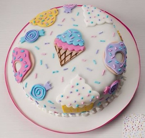 candy cake & Cupcakes1
