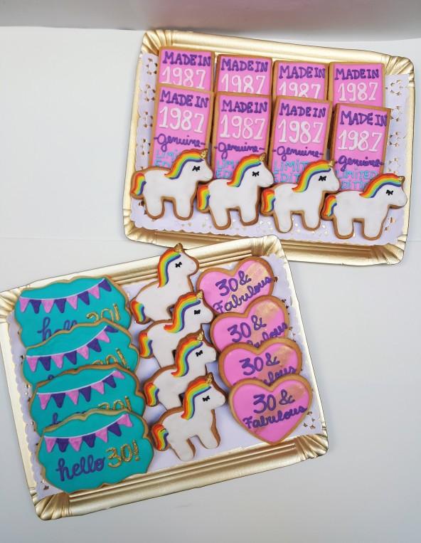 cookies unicornio y 30 fabulous (1)