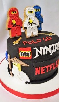 Torta Ninja Go Netflix (2)