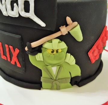 Torta Ninja Go Netflix (5)