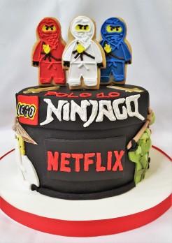 Torta Ninja Go Netflix (6)
