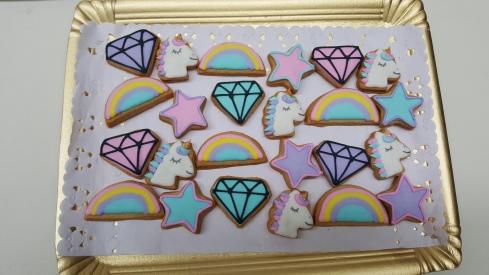 cookies y mini cookies unicornio (8)