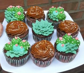 cupcakes cactus suculentas (1)