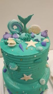 Mesa dulce Sirena buttercream (11)