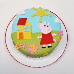 Peppa amigos cookies y torta (2)