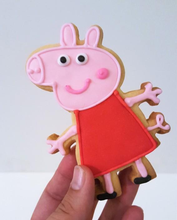 Peppa pig y amigos cookies (5)