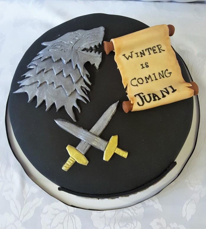 Torta Game of thrones (2)