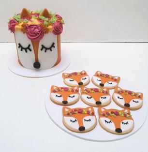Torta y cookies Zorrito (10)